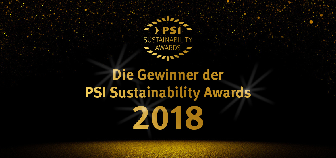 Gewinner - PSI Sustainability Awards 2018