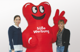 Trainees at Kalfany Süße Werbung