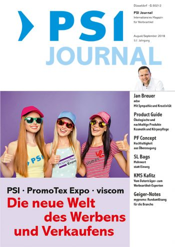 PSI Journal Ausgabe 08+09/2018