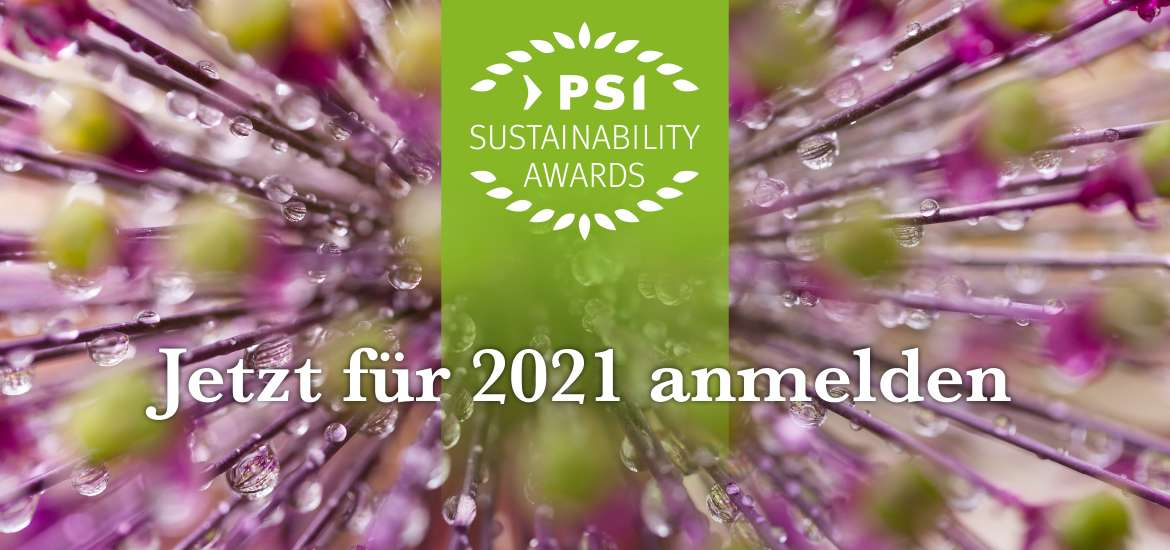 PSI Sustainability Awards 2021