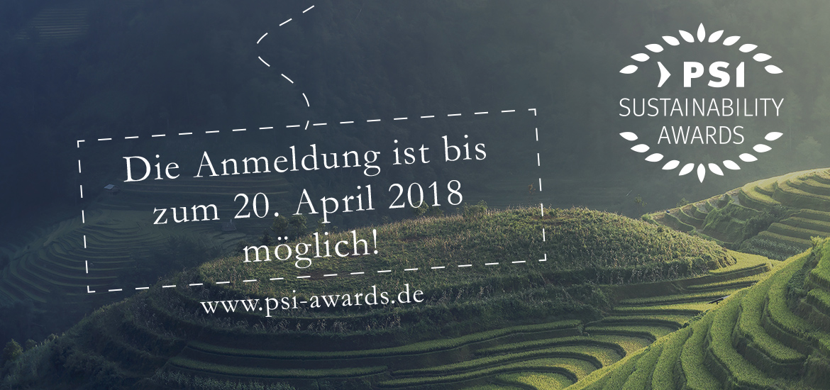 PSI Sustainability Awards 2018