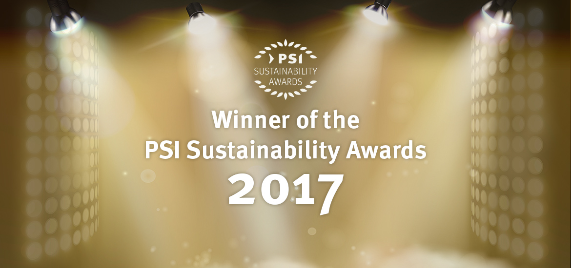 PSI Sustainability Awards 2017