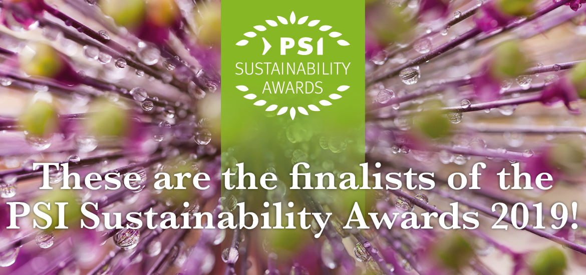 PSI Sustainability Awards 2019